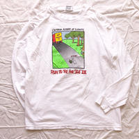"1982's USA製 ""RUN TO THE FAR SIDE XVI"" 両面プリント ロンTee / 古着 ビンテージ"