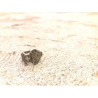 """old """"ROLEX"""" ロレックス ノベルティー スプーンリング / 古着 ビンテージ"""
