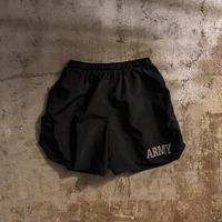 US ARMY ブラック トレーニングショーツ / 古着 ビンテージ