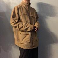 """""""FIVE FOUR"""" スタンドカラー 4つポケ ハンティングスタイル ジャケット / 古着 ビンテージ"""