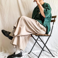 1980's~ Gurkha style beige color wide pants made in USA