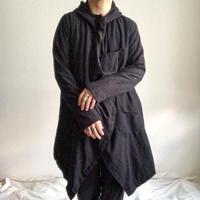 2000's~ black deformation design jacket