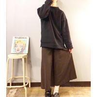 old ブラウン デザイン ワイドパンツ / 古着 ビンテージ