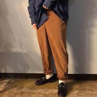 1990's~ カナダ製 キャメルカラー スエード調 パンツ / 古着 ビンテージ