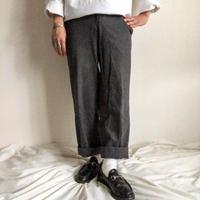 Vintage 1970's~1980's Yves saint laurent stripe wool slacks made in France