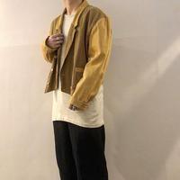 1980's~ ショート丈 切り替えデザイン ダブルブレスト ジャケット / 古着 ビンテージ