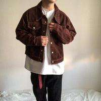 Vintage 1970's MONTGOMERY WARD brown cotton jacket