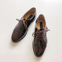 GIORGIO BRUTINI brown leather shoes made in Brazil