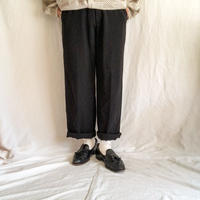 2000's~ black solid slacks pants