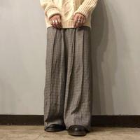 1990's~ USA製 総柄 ワイドパンツ / 古着 ビンテージ