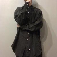 NOS 1980's~1990's Polo Ralph Lauren ブラック シルクシャツ / 古着 ビンテージ