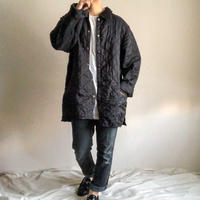 """old Barbour """"LIDDESDALE"""" black quilting jacket made in England"""