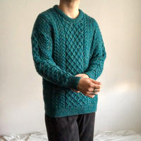 Vintage fisherman sweater made in Ireland