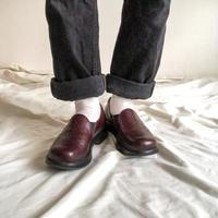 """dansko"" brown design leather shoes"