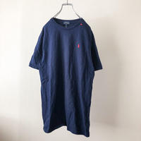 Polo Ralph Lauren navy pony embroidery S/S tee