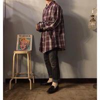 """""""KING SIZE"""" ビッグサイズ チェック柄 ボタンダウンシャツ / 古着 ビンテージ"""