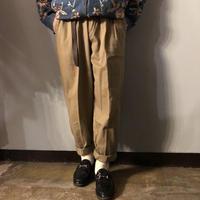 1980's~1990's タック入り コットン チノパンツ / 古着 ビンテージ