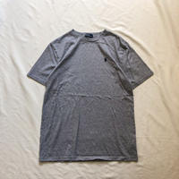 1990's~ Polo Ralph Lauren gray pony embroidery S/S tee