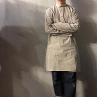 ETHOS エトス スタンドカラー ストライプ グランパシャツ / 古着 ビンテージ