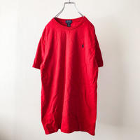 Polo Ralph Lauren red pony embroidery S/S tee