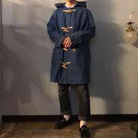 1990's~ DENIM&CO デニム ダッフルコート / 古着 ビンテージ