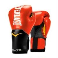 ELITE PRO STYLE TRAINING GLOVES(RED)14oz