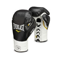 MX Professional Fight Boxing Gloves BLACK