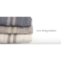 Linen Henley Neckline