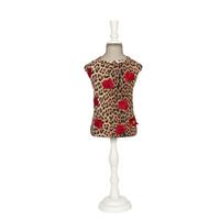 Art 5098 t-shirt Leopard and rose