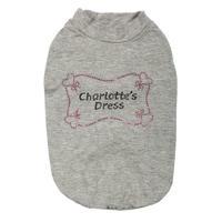 T-SHIRT''CHARLOTTE''  MELANGE GREY