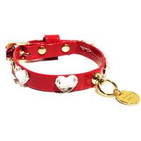 Collar 1.2cm NINI rosso