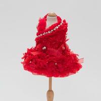 レッドバルーンスワロフスキーゴージャスドレス
