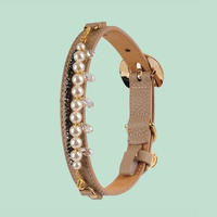 Mademoiselle Dog Collar BEIGE