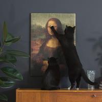 Copycat Art Scratcher – Mona Lisa