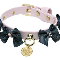 "COLLAR  ""CLAUDINE""   BABY ROSE"