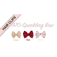 Art A70n hariclip Sparkling Bow