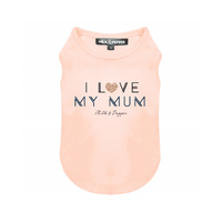 I Love My Mum T-Shirt - Pink