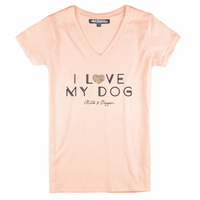 I Love My Dog Woman T-Shirt