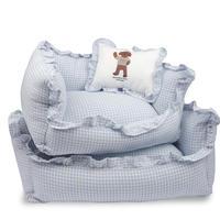 Blue Sky Check Cushion  S  size