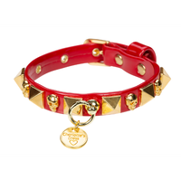 Art f1525N collar Skull and square