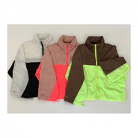 COLOR BLOCK ZIP UP