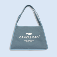 The Canvas Bag Ash Blue_Sサイズ
