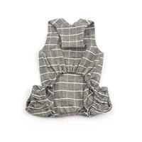 Pure Cotton Jumpsuit Gray