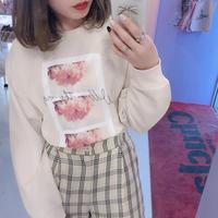 3 Photo  フラワーロングTシャツ
