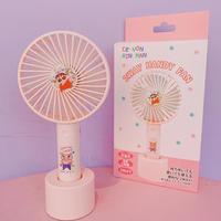 クレヨンしんちゃん【2way ハンディファン】扇風機