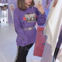 フォトロングTシャツ(RIPTDE)