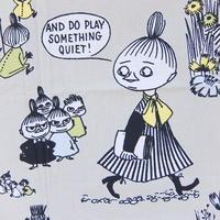 ムーミン Moomin ファブリック(ライトグレー)新品 1m