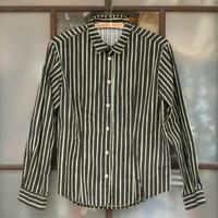 マリメッコ marimekko  ヴィンテージ ヨカポイカシャツ(ブラック)