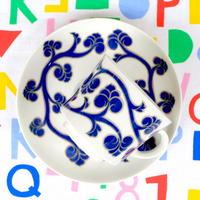 ARABIA アラビア リューディア コーヒーカップ&ソーサー