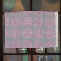 マリメッコ marimekko <Puketti>ファブリック(グレー×ピンク)50×73cm 日本限定 廃盤カラー